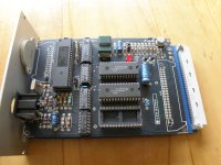 Controller board front