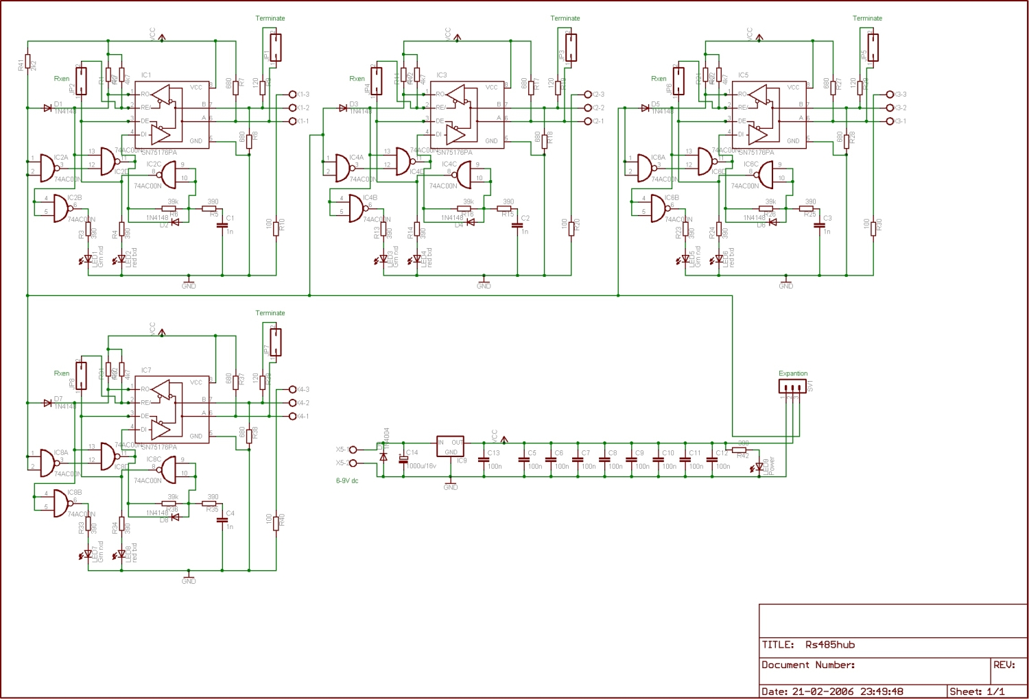 Wiring Diagram For Rs485 Hub Question About Ptz Evertdekker Com Rs 485 Page 1 Rh Examples 2wire